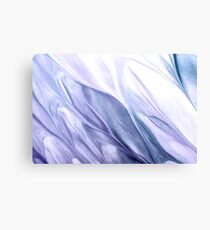 Abstract Blue Purple White Canvas Print