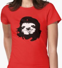 Sloth Che Women's Fitted T-Shirt