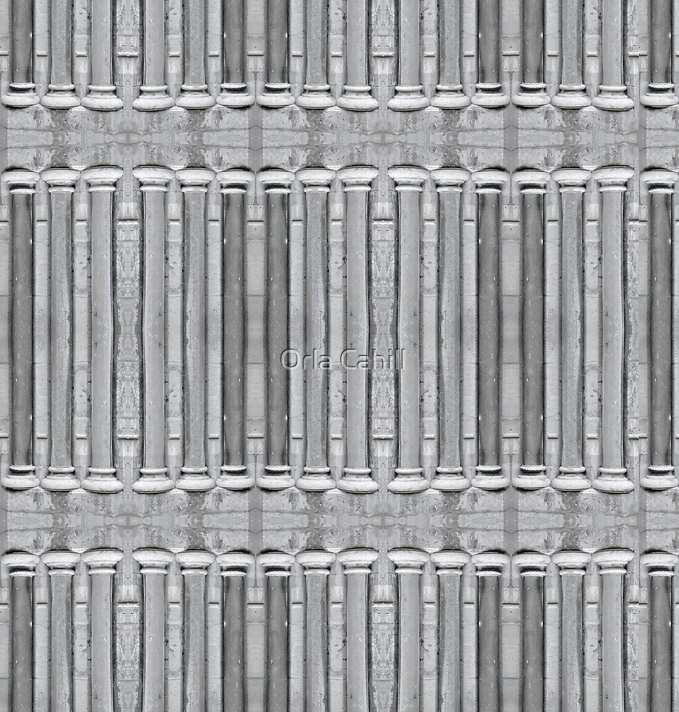 Pillar Pattern by Orla Cahill