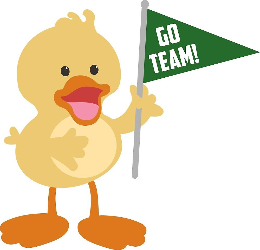 Cute Oregon Duck for Kids by Yvette Tripp