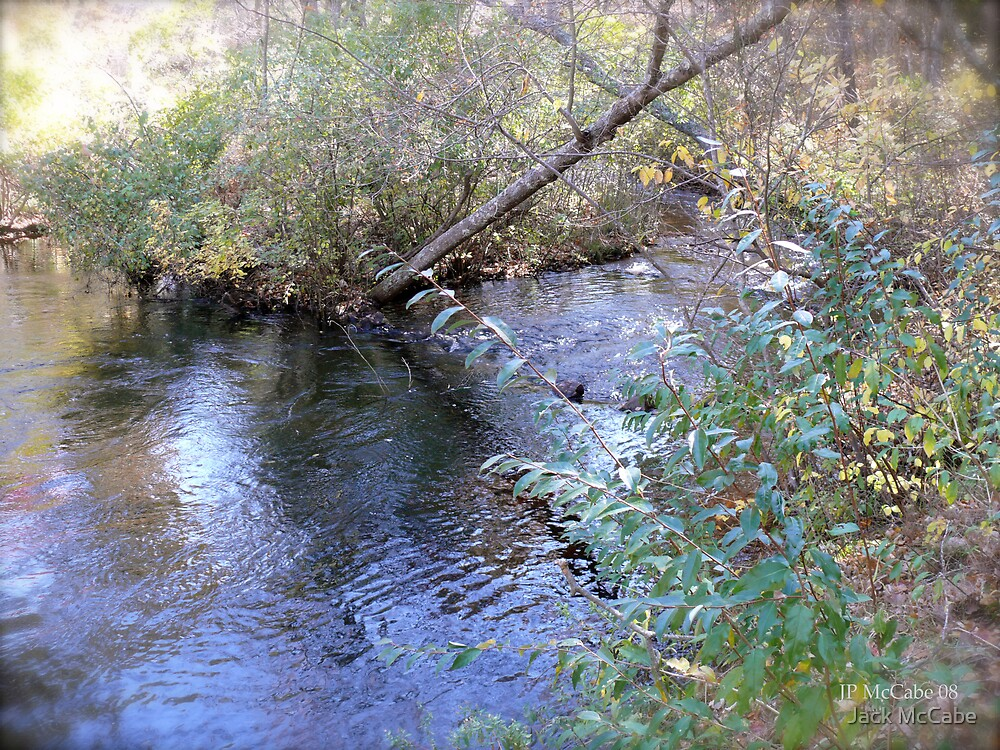 Autumn in Rhode Island | Beaver River Pooling by Jack McCabe