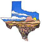Deep In the Art of Texas  by JillelaineArt