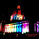 Gay Pride Night, San Francisco City Hall - June 2015 by ZannaLea
