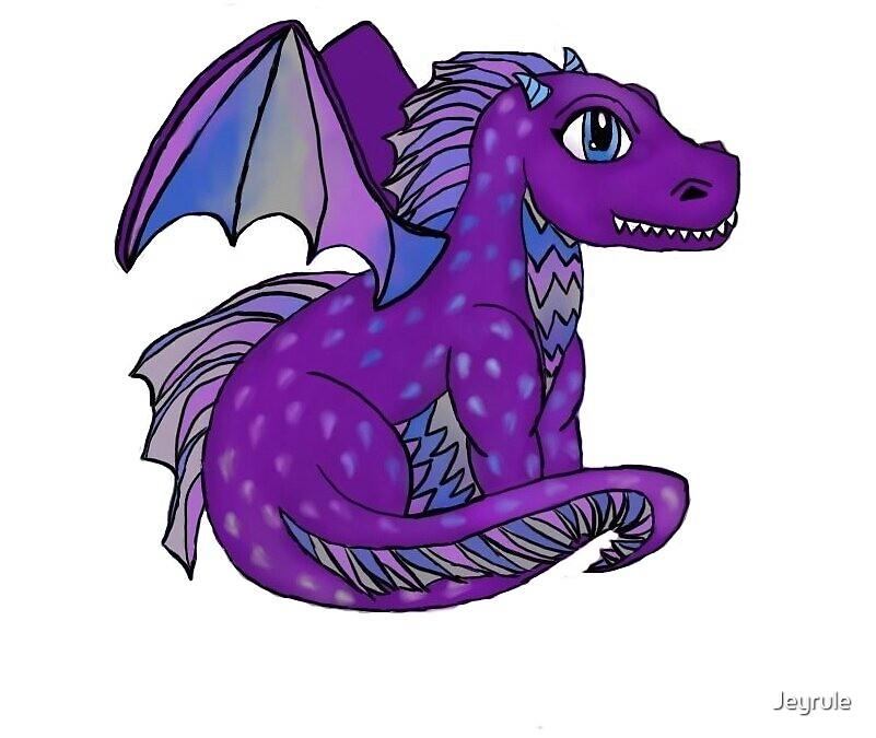 Purple Dragon by Jeyrule