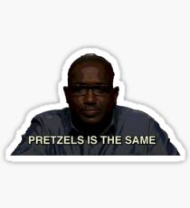 Hannibal's Pretzels Sticker