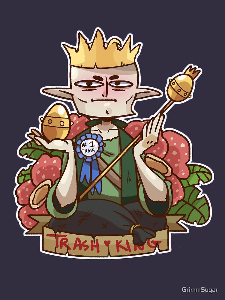 Solas - King of Trash by GrimmSugar