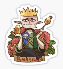 Solas - King of Trash Sticker