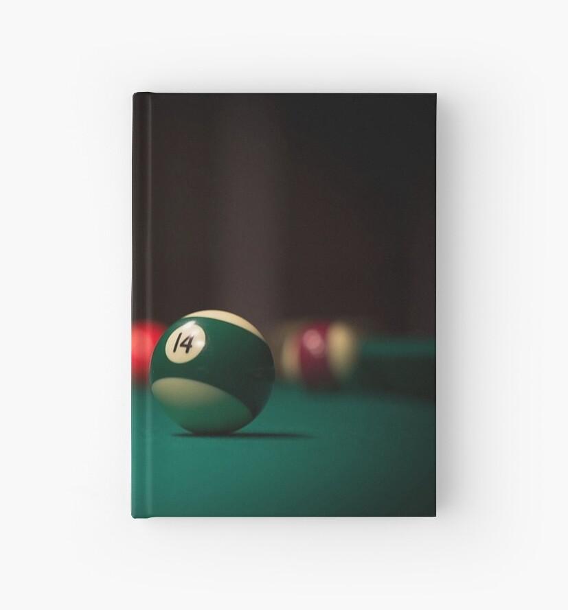 Cuadernos de tapa dura «Bola de billar de Spotlight» de Slinky-Reebs ... cf6c7f15612ab