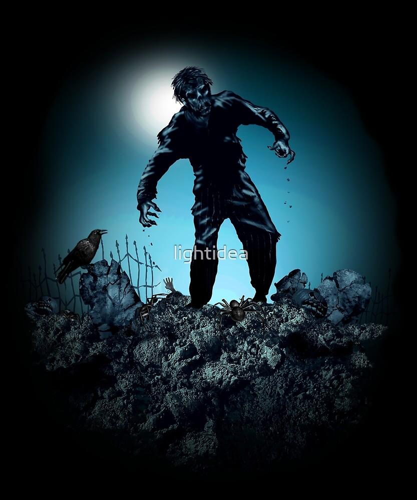 Zombie Grave-yard by lightidea