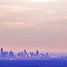 Melbourne at dusk by Elaine Stevenson