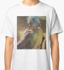 Nude from Behind by Umberto Boccioni Classic T-Shirt