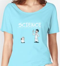 Crashcup Science Women's Relaxed Fit T-Shirt