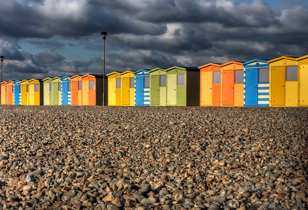 Beach Huts by Stephen Morhall
