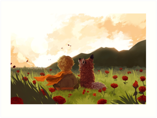 The Little Prince by neoncorvid