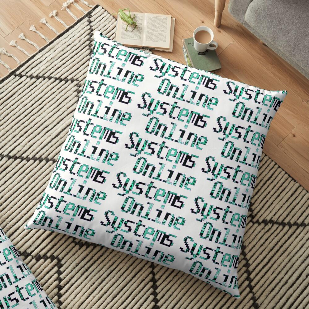 Systems Online Logo Floor Pillow