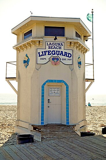 Laguna Beach Lifesaver by Robert Meyers-Lussier