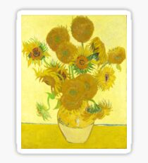 Vincent Van Gogh - Sunflowers. Sticker