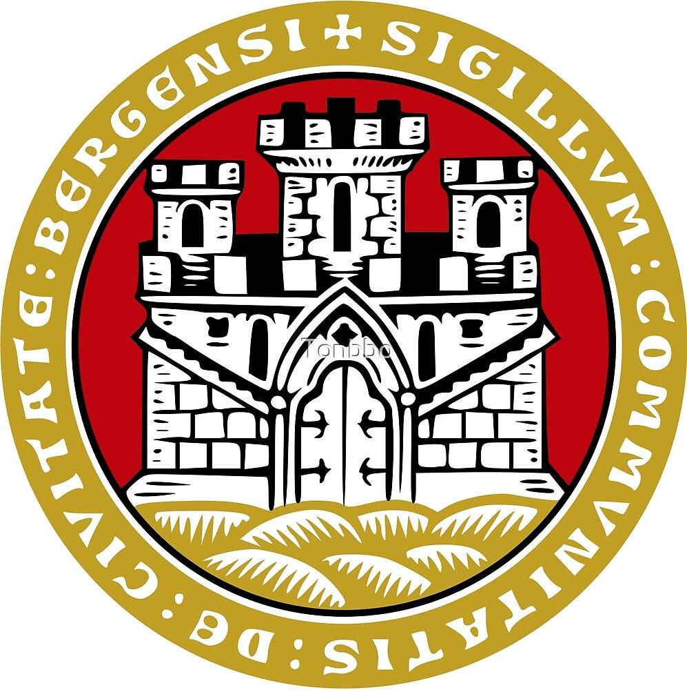 Bergen Coat of Arms, Norway by Tonbbo