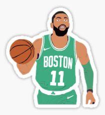 Kyrie Irving Celtics Sticker Sticker
