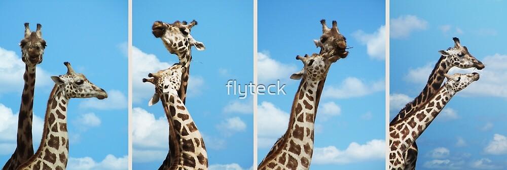 Giraffe Giraffe Giraffe Giraffe by flyteck
