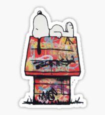 Snoopy x Graffiti Sticker