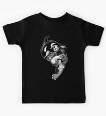Monochromanimal (black) Kids Tee
