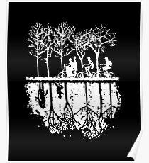 Trending Strange Merry Christmas Ugly Holiday Crewneck Sweatshirt Poster