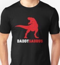 Funny Daddysaurus - Cool Father's Day Gifts for Dinosaur Lovers T-Shirt