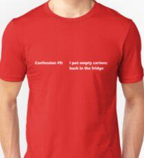 Confession #9 Unisex T-Shirt