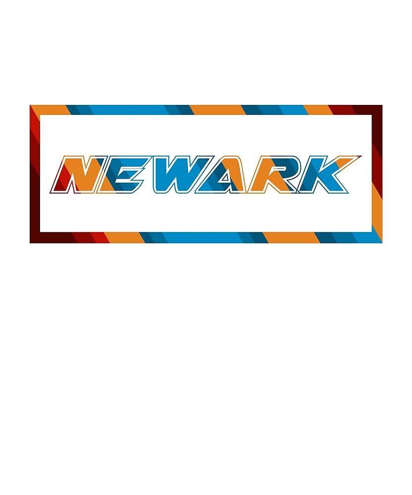 Newark T-Shirt for Men and Women by AllStarMerch