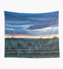 ORDER AT END OF DAY Wall Tapestry
