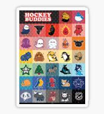 Hockey Buddies Sticker