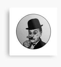 Chaplin On Pencil! Metal Print