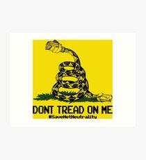 Save Net Neutrality Art Print