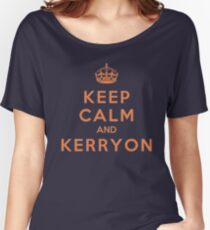 Keep Calm and Kerryon Football Women's Relaxed Fit T-Shirt