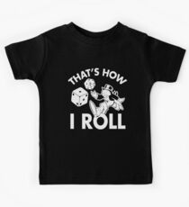 That's How I Roll Monopoly Kids Clothes