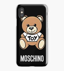 Moschino bear iPhone Case/Skin