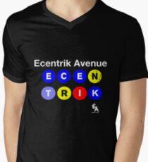 Ecentrik Avenue Men's V-Neck T-Shirt