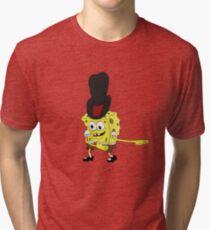 Spongebob - Cowboy Dance Meme Tri-blend T-Shirt