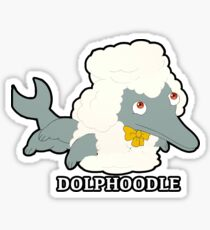 Big Mouth Dolphoodle  Sticker