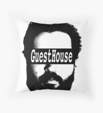 GuestHouse Face Logo  Throw Pillow