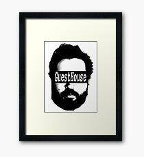 GuestHouse Face Logo  Framed Print