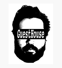 GuestHouse Face Logo  Photographic Print