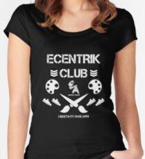 Ecentrik Club Women's Fitted Scoop T-Shirt