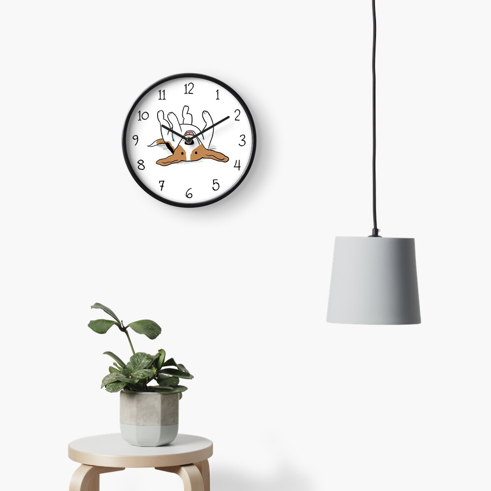 Care-Free Beagle Clock