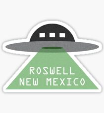 Roswell, New Mexico - UFO Sticker