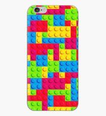 Coloured Bricks iPhone Case