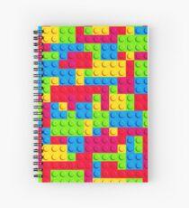 Coloured Bricks Spiral Notebook