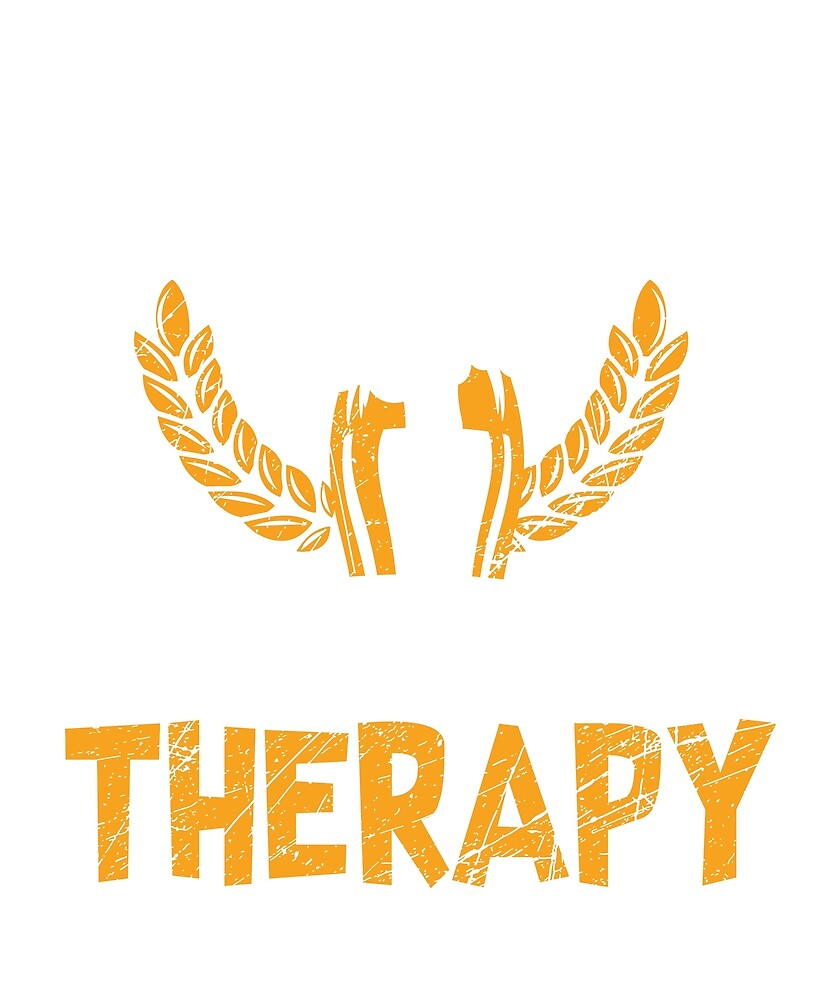 Beer is Cheaper than Therapy T-Shirt for Men and Women by AllStarMerch