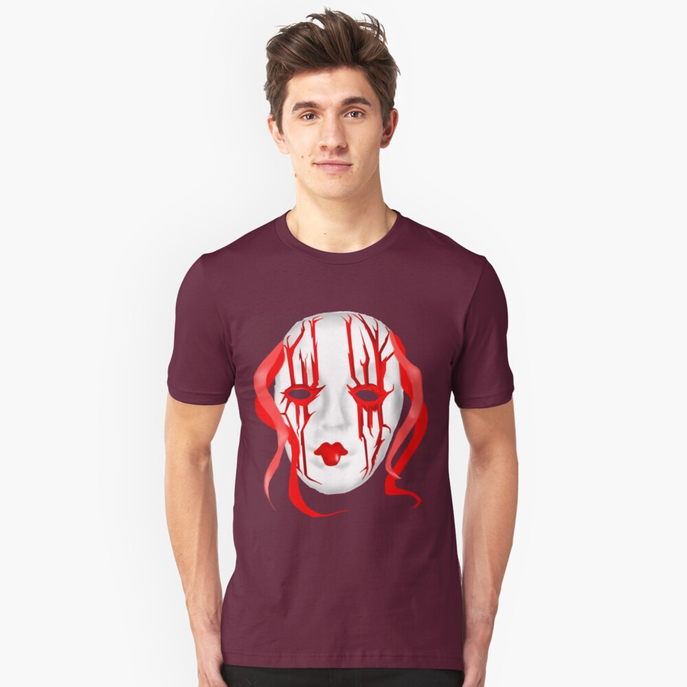 Red Mask Unisex T-Shirt Front